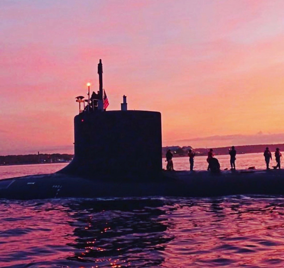 Thames River Submarine Sunsets