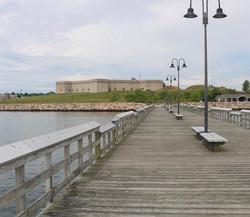 Fort Trumbull State Park Pier