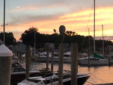 Thamesport Marina Sunsets