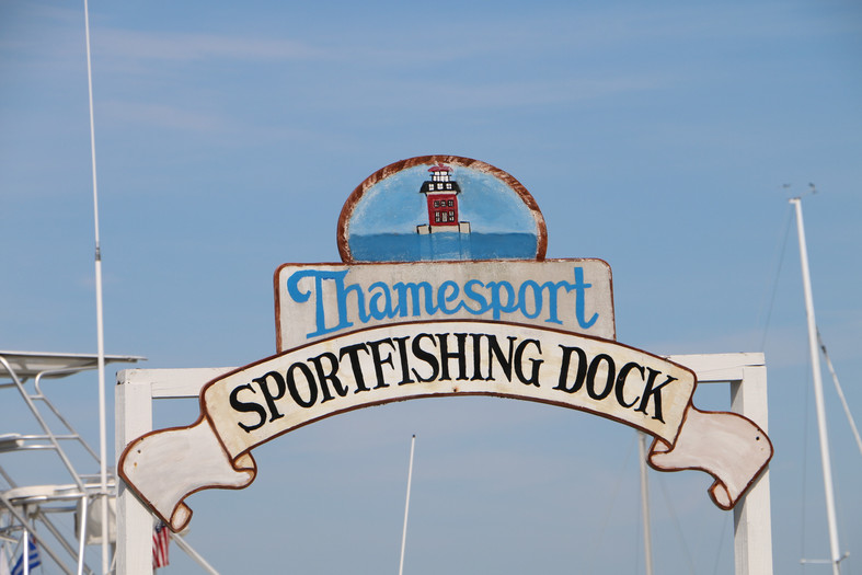Thamesport Sportfishing Dock