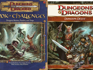 Looking Over Book of Challenges and Dungeon Delve: General Index