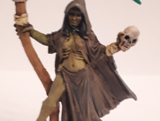 The Process of Painting Necromancer