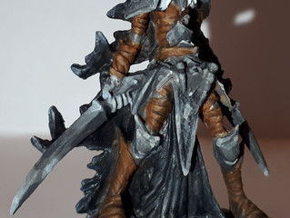 The Process of Painting Dark Elf Warrior