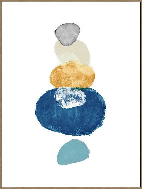 Canvas Circulos Azules
