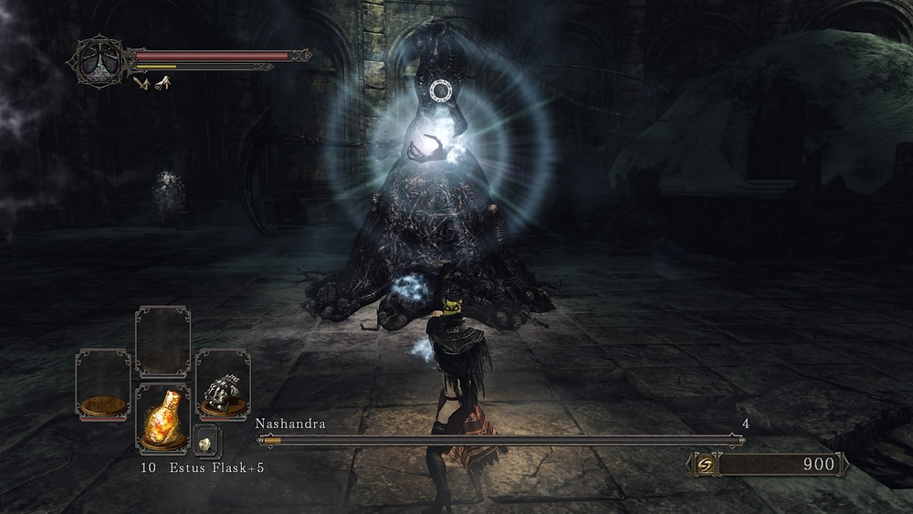 Being able to dual wield freely means I can still launch hadokens with an empty fist for my offhand, unlike Dark Souls 3