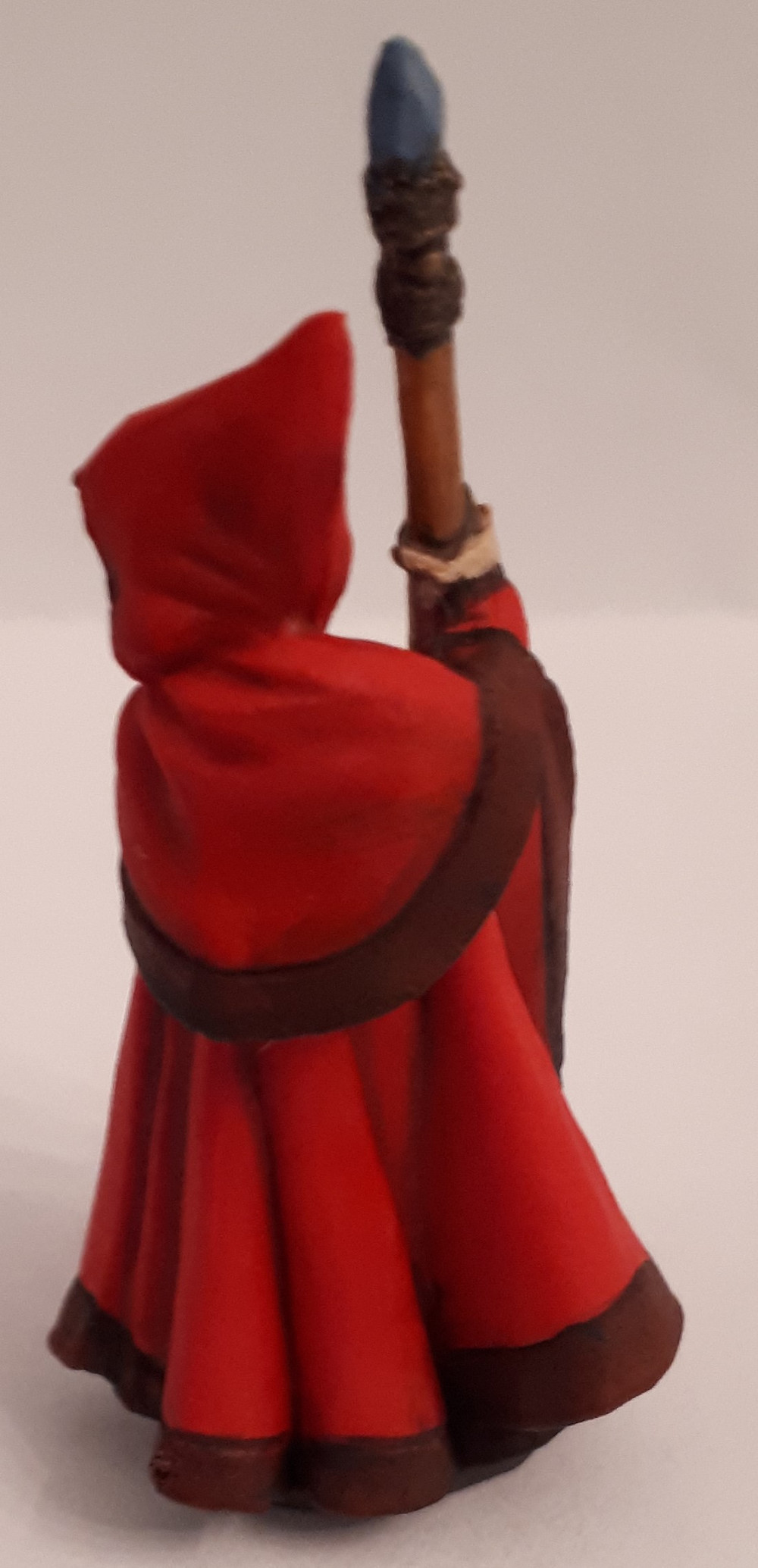 I was doubtful at first, but the lining between the colors on the cloak really added to the look