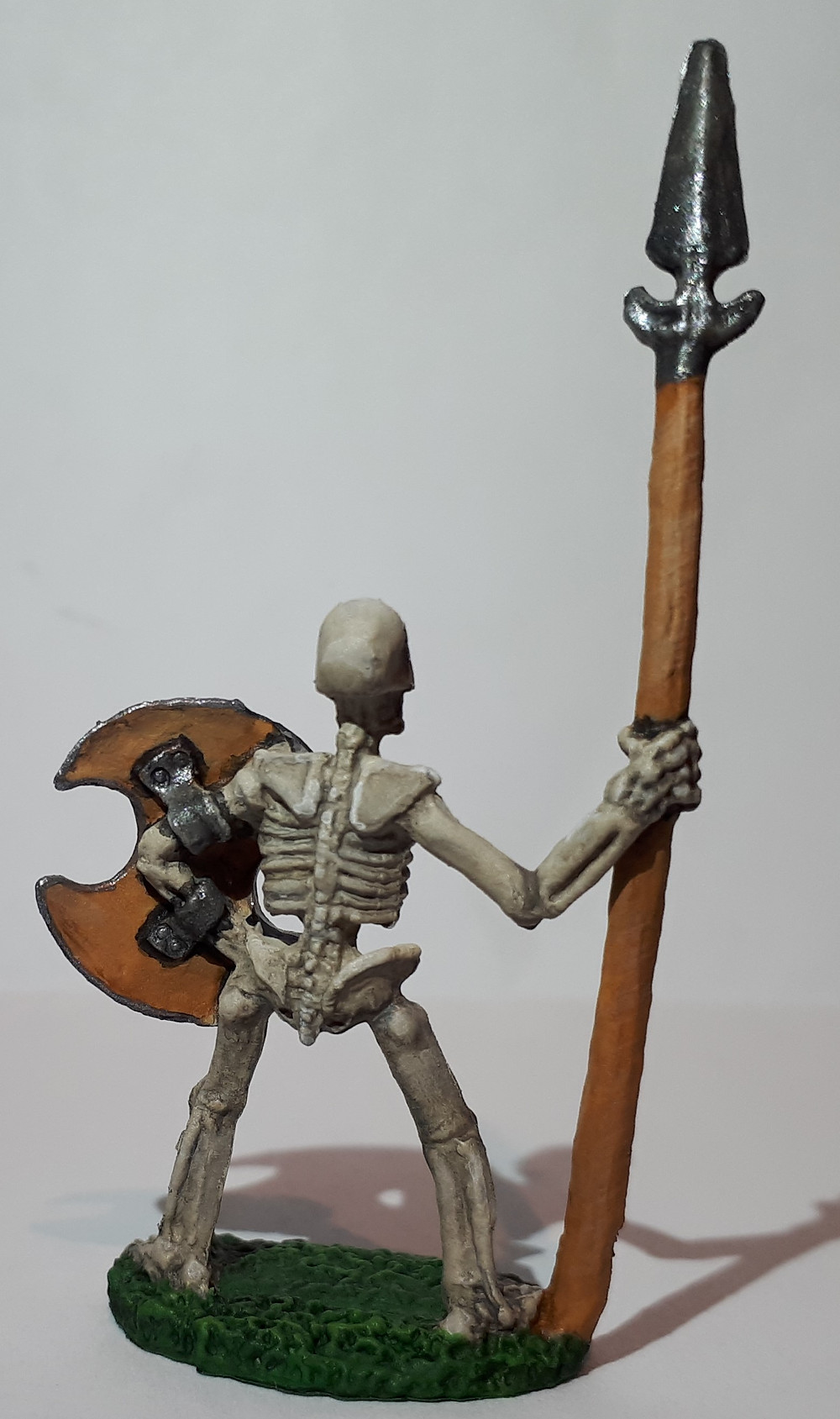 The back is far less interesting on this miniature