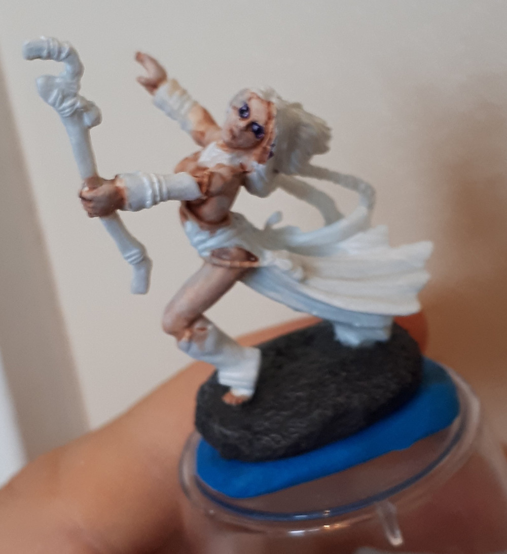 The skin was my favorite part of how this miniature turned out