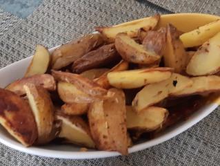 Fluffy Potato Wedges
