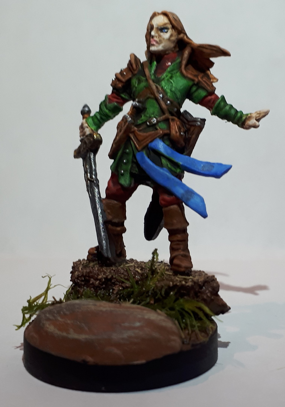 I loved the pose on this miniature