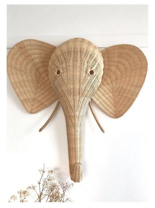Elefante pared