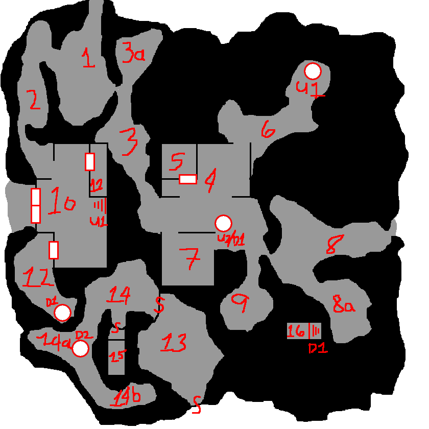 Cleaner version of the ground level map