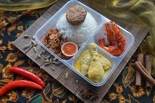 Nasi Padang Bento Box