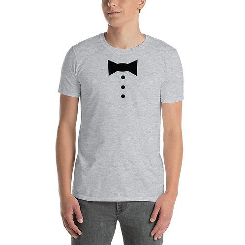 Groom Bow Tie Short-Sleeve Unisex T-Shirt