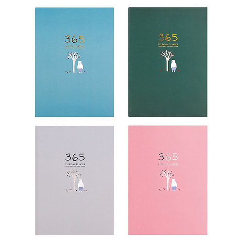 365 Planner Weekly Monthly Daily Diary Planner