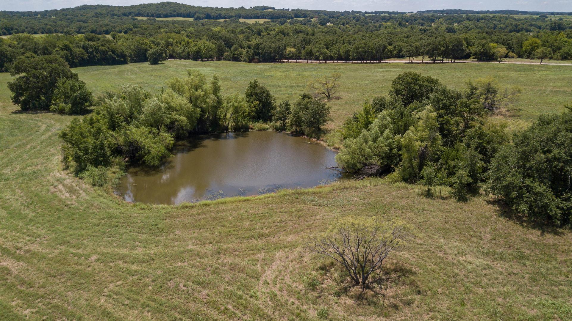 Pond on Oak Creek Ranch