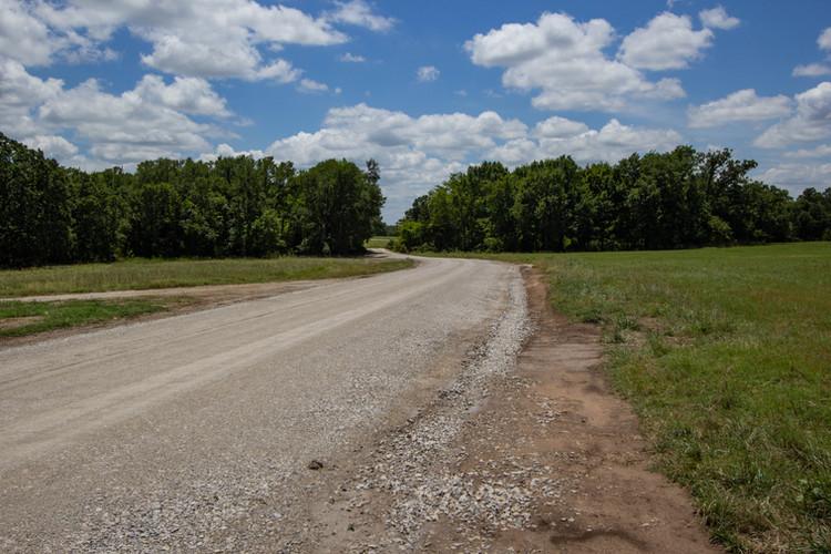 Roads through Oak Creek Ranch