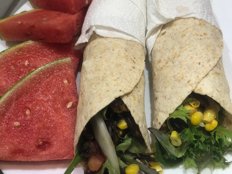 6-Minute Bean Burrito