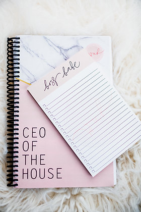 CEO OF THE HOUSE Planner and to-do list *bundle*