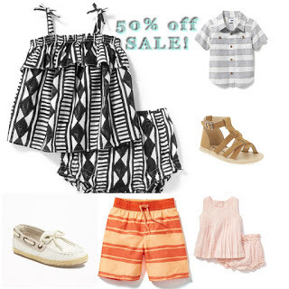 Old Navy SALE – Summer Wardrobe – Up to 50% OFF