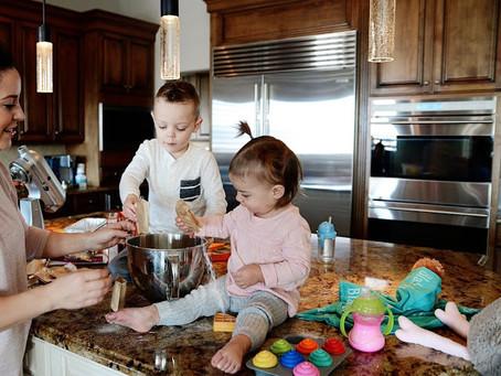 Weekend Baking with the Kiddies {Buttars Bread}