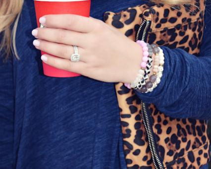 Cowl Neck + Leopard