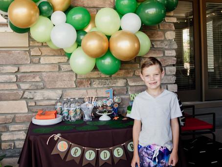 Ryder's 7th Birthday - Dinosaurs