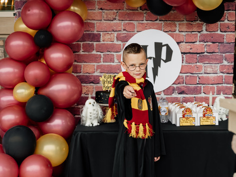 Ryder's 8th Harry Potter Birthday Party