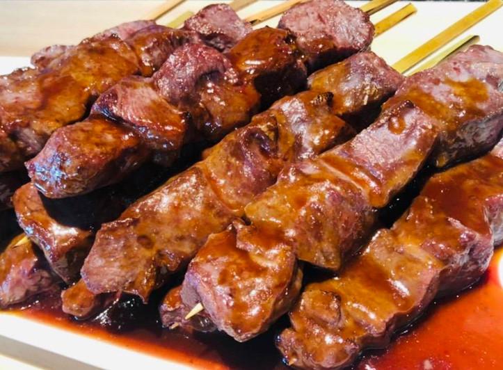 牛串(自家製BBQソース)