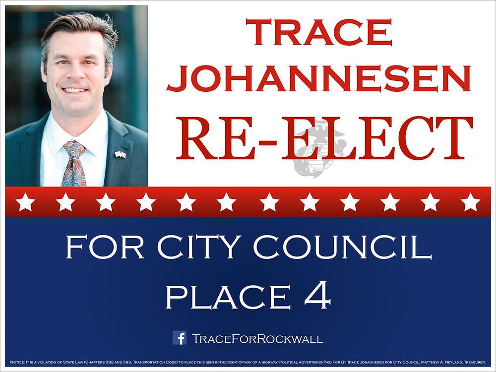 Johannesen re-elected for Rockwall City Council