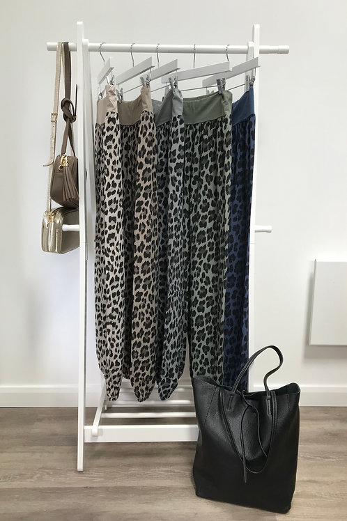 Slouchies/Yoga Pants - ANIMAL PRINT