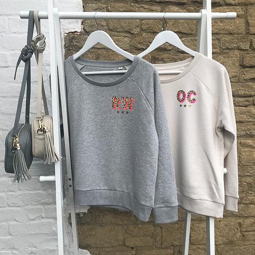 Monogrammed Organic Sweatshirt