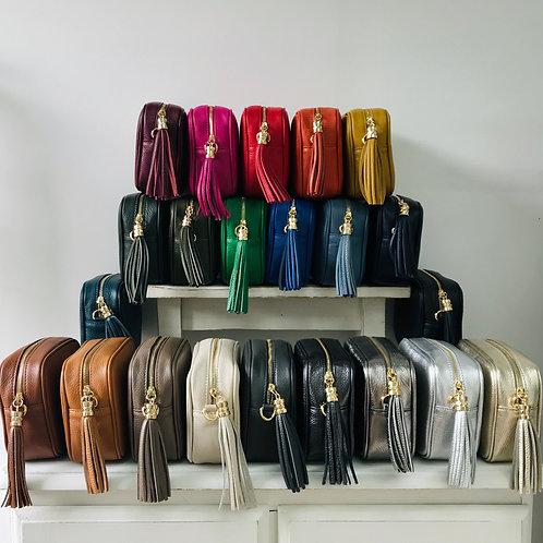 MILAN Leather Cross Body/Shoulder Bag