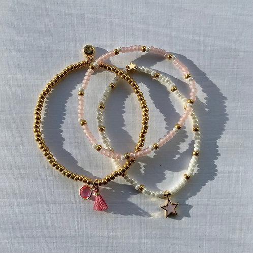 Candy Floss Bracelet Set