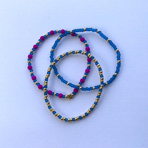 Egyptian Blue Bracelet Set