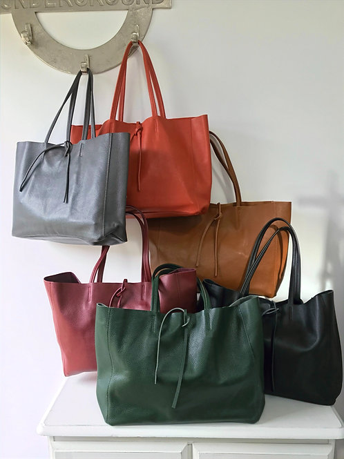 FLORENCE Soft Leather SHOPPER