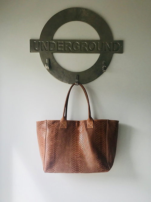 NAPLES Leather Handbag/Shopper