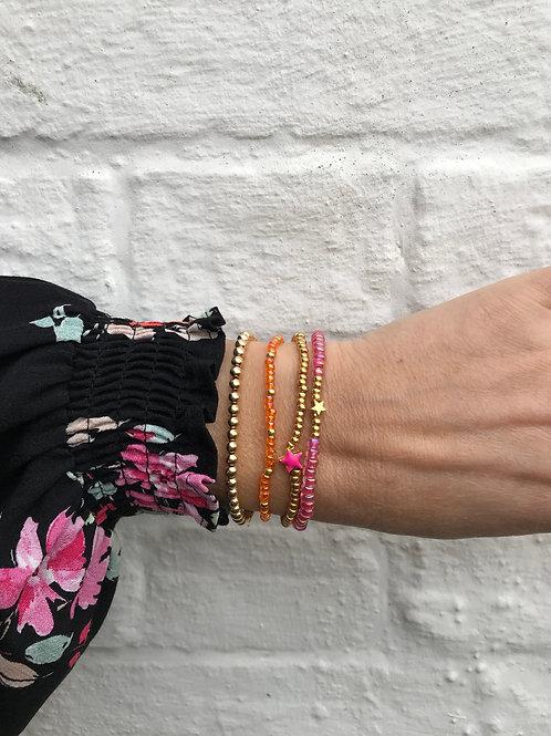 Tangerine Crush Bracelet Set