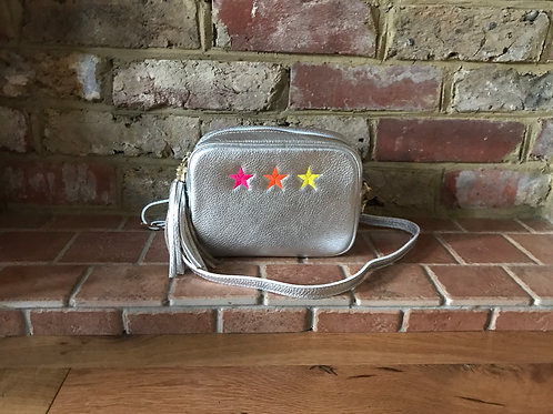 Neon 3 Star Crossbody Bag