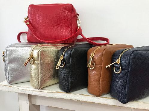 SOVANA Leather Crossbody Bag