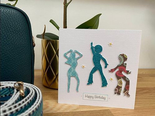 Greetings Card - 1970s BOOGIE