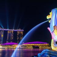 Singapore Merlion - Marina Bay