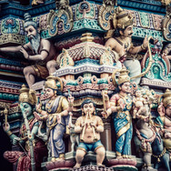 Architecture - a hindu temple in Singapore