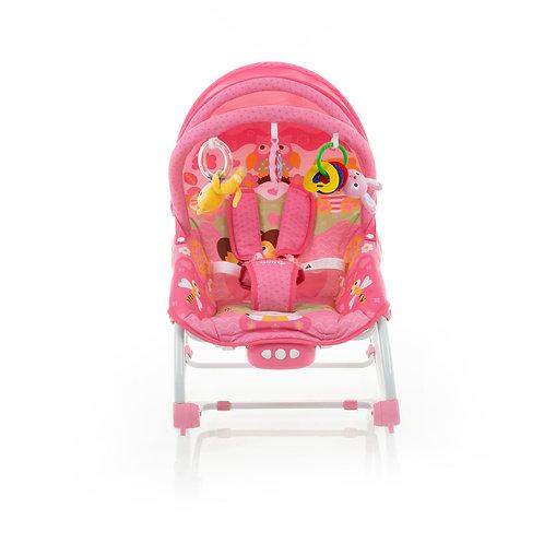 CADEIRA DE DESCANSO BOUNCER SUNSHINE BABY PINK GARDEN SAFETY 1ST