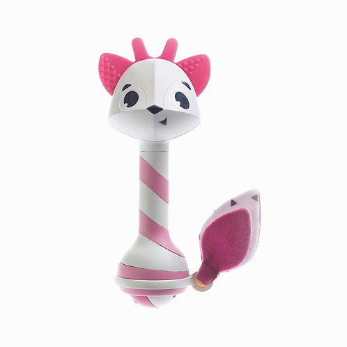 BRINQUEDO CHOCALHO TEETHER RATTLE FLORENCE - TINY LOVE