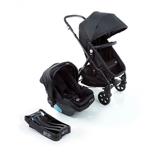 TRAVEL SYSTEM POPPY TRIO COSCO PRETO