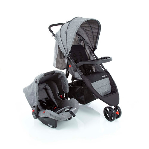 TRAVEL SYSTEM JETTY DUO COSCO CINZA