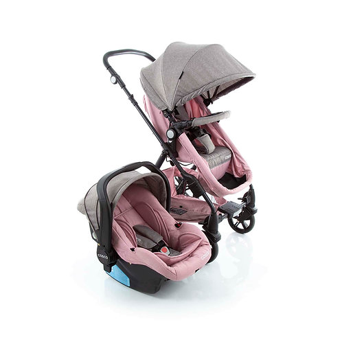 TRAVEL SYSTEM POPPY DUO COSCO ROSA