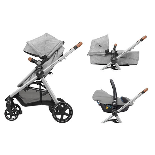 TRAVEL ANNA NOMAD GREY MAXI-COSI