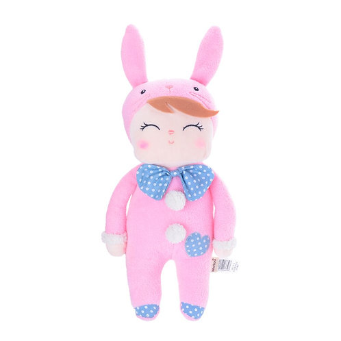 METOO DOLL ANGELA PINK BUNNY